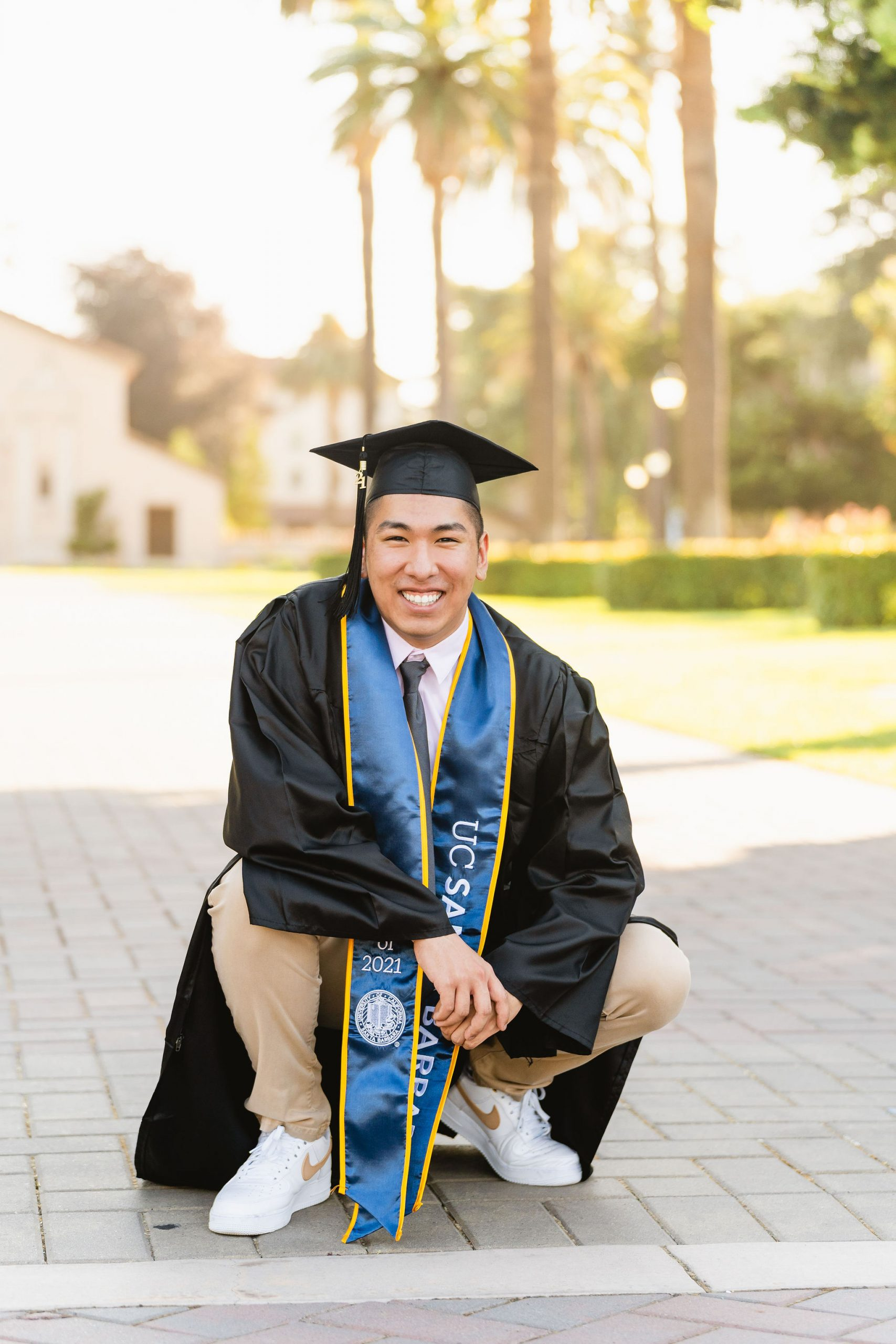 uc santa barbara male graduate