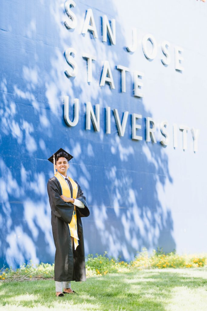 San Jose State Graduation Photo