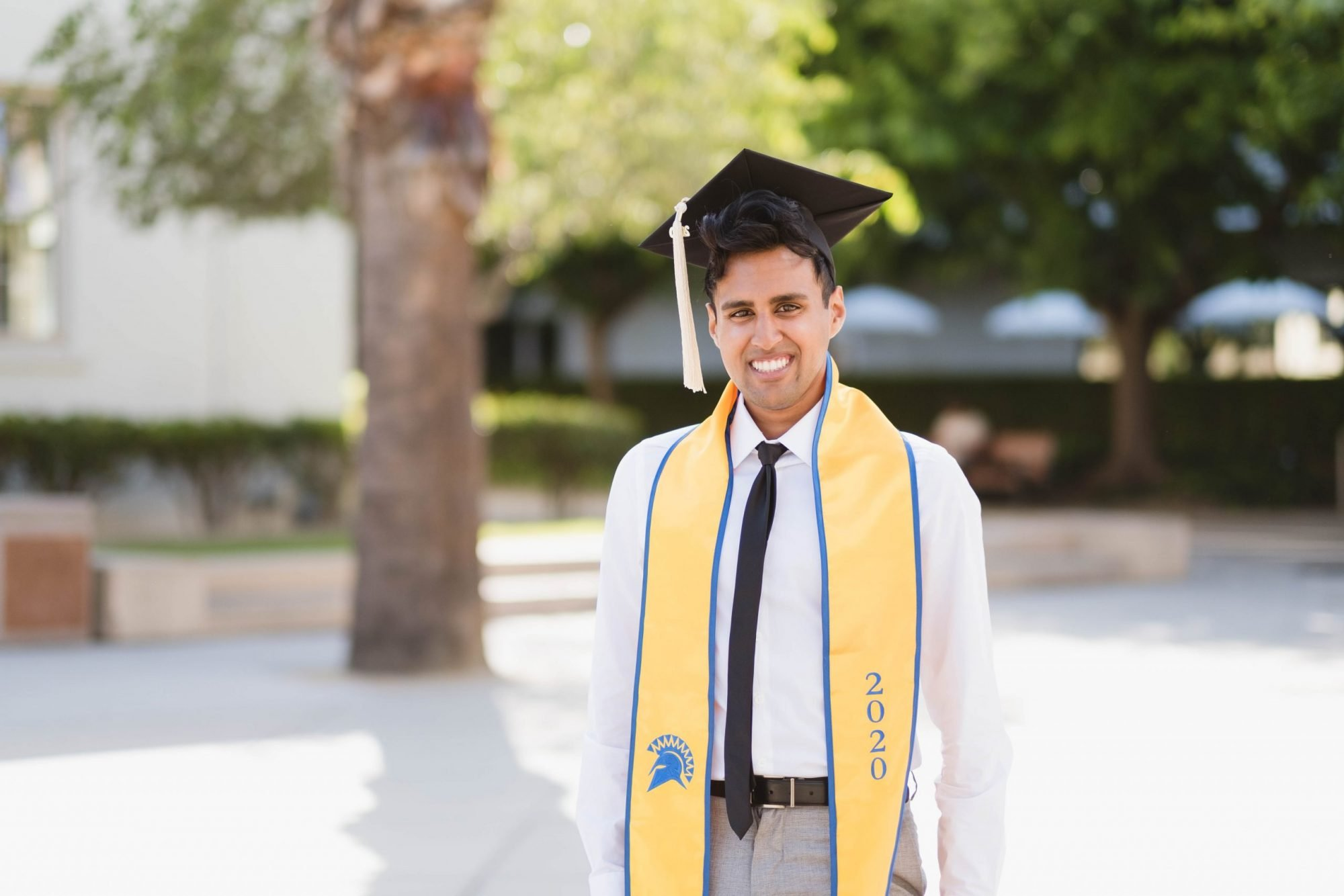Senior Portrait in San Jose Caliornia