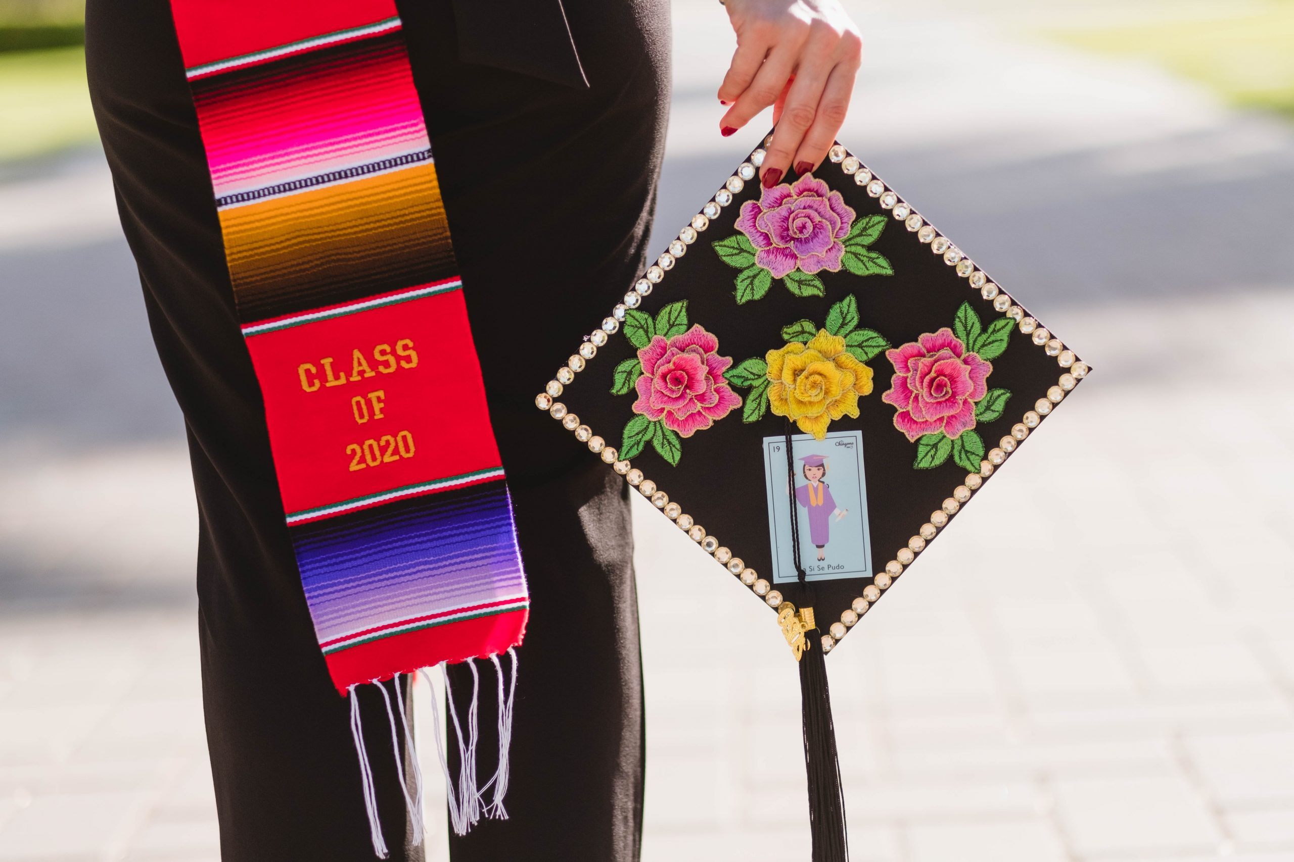 Class of 2020 Decorated Graduation Cap