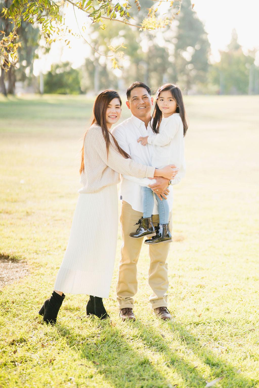 family portrait at central park fremont